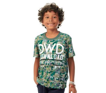 Camiseta-Infantil-Abrange-Militar-Verde