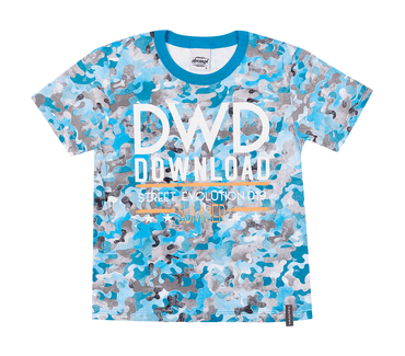 Camiseta-Infantil-Abrange-Militar-Azul