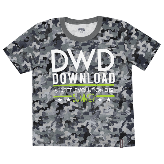 Camiseta-Infantil-Abrange-Militar-Preto