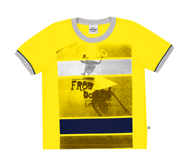Camiseta-Infantil-Abrange-Free-Board-Amarelo