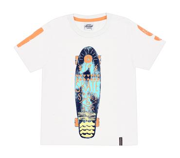 Camiseta-Infantil-Abrange-Skate-Branco