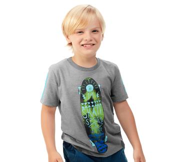 Camiseta-Infantil-Abrange-Skate-Mescla