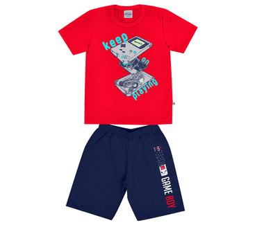 Conjunto-Infantil-Abrange-Video-Game-Vermelho-e-Azul-Marinho