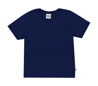 Camiseta-Primeiros-Passos-Abrange-Basico-Azul-Marinho