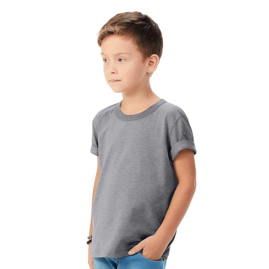 Camiseta-Infantil-Abrange-Basico-Mescla
