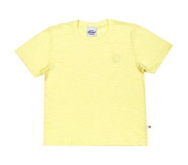 Camiseta-Primeiros-Passos-Abrange-Basico-Amarelo