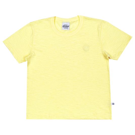 Camiseta-Infantil-Abrange-Basico-Amarelo