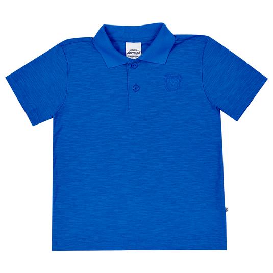 Camisa-Polo-Infantil-Abrange-Azul