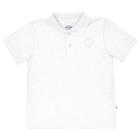 Camisa-Polo-Infantil-Abrange-Branco