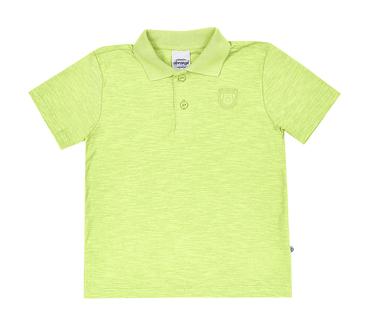 Camisa-Polo-Infantil-Abrange-Verde