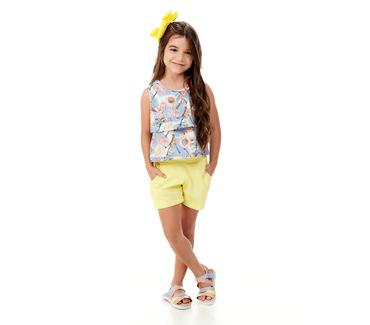 Conjunto-Infantil-Abrange-Flor-de-Cerejeira-Azul-e-Amarelo