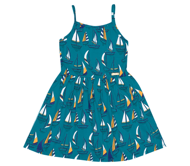 Vestido-Infantil-Abrange-Barcos-Verde