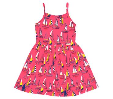 Vestido-Infantil-Abrange-Barcos-Vermelho