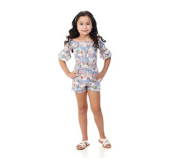 Macaquinho-Infantil-Abrange-Flor-de-Cerejeira-Azul-e-Amarelo