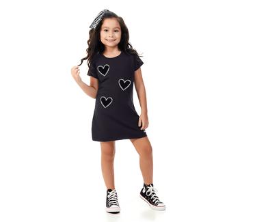 Vestido-Infantil-Abrange-Coracoes-Preto