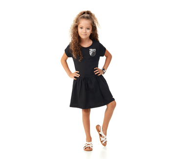 Vestido-Infantil-Abrange-Paete-Preto