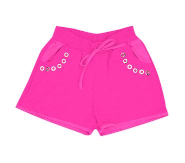 Shorst-Infantil-Abrange-Moletinho-Pink