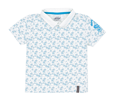 Camiseta-Polo-Primeiros-Passos-Tropical-Branco