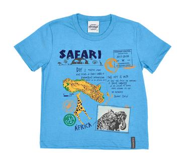 Camiseta-Primeiros-Passos-Abrange-Safari-Azul