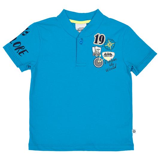 Camisa-Polo-Primeiros-Passos-Abrange-Explore-Azul
