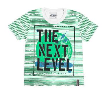 Camiseta-Primeiros-Passos-Abrange-Level-Verde