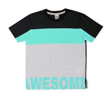 Camiseta-Infantil-Cata-Vento-Awesome-Preto
