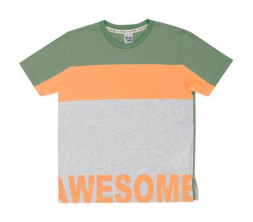 Camiseta-Infantil-Cata-Vento-Awesome-Verde