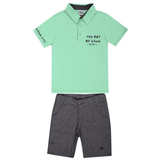 Conjunto-Infantil-Cata-Vento-Polo-Verde-e-Preto