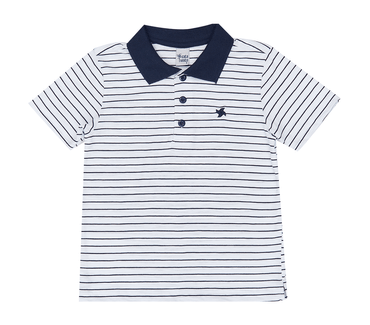 Camiseta-Infantil-Cata-Vento-Polo-Listrado-Branco