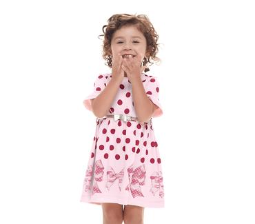 Vestido-Primeiros-Passos-Cata-Vento-Bolinhas-Rosa