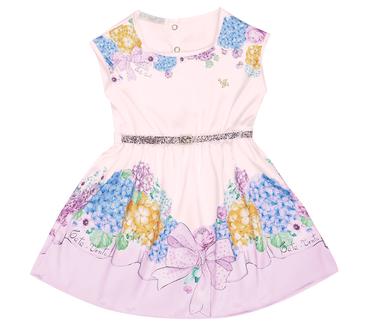 Vestido-Primeiros-Passos-Cata-Vento-Flores-Rosa