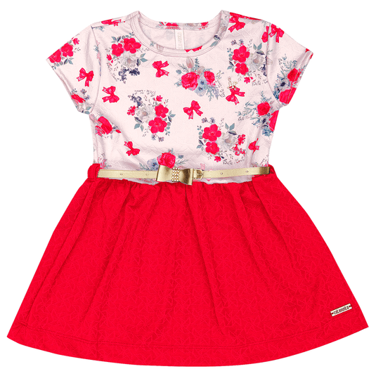 Vestido-Primeiros-Passos-Cata-Vento-Floral-Vermelho