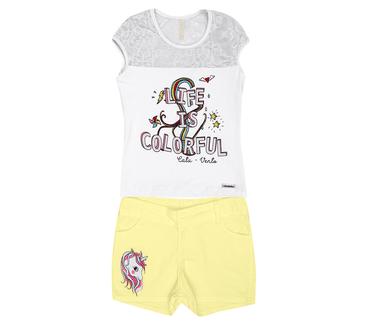 Conjunto-Infantil-Cata-Vento-Unicornio-Branco-e-Amarelo