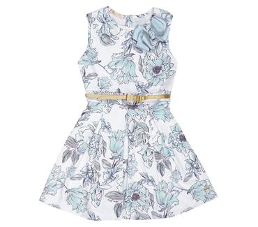 Vestido-Infantil-Cata-Vento-Floral-Azul