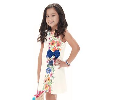 Vestido-Infantil-Cata-Vento-Flores-Natural
