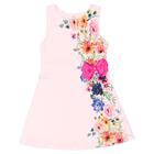 Vestido-Infantil-Cata-Vento-Flores-Rosa