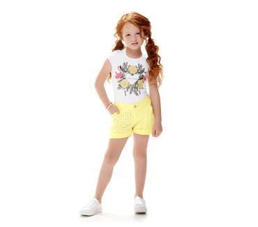 Conjunto-Infantil-Cata-Vento-Flamingos-Branco-e-Amarelo