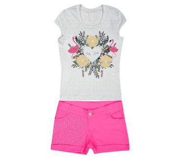 Conjunto-Infantil-Cata-Vento-Flamingos-Mescla-e-Pink