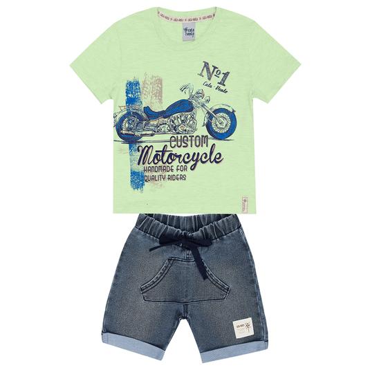 Conjunto-Primeiros-Passos-Cata-Vento-Moto-Verde-e-Jeans-Medio
