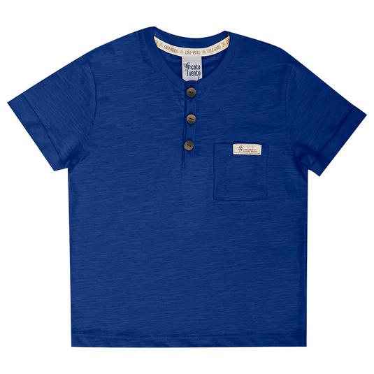 Camiseta-Primeiros-Passos-Cata-Vento-Botoes-Azul