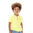 Camiseta-Primeiros-Passos-Cata-Vento-Botoes-Amarelo