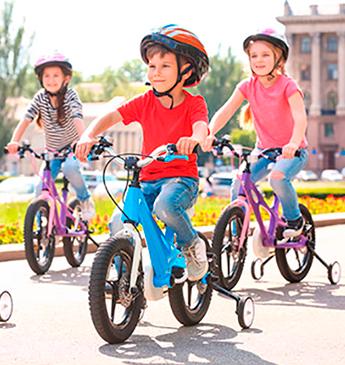 5 benefícios para motivar as crianças a andar de bicicleta